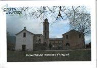 CUNVENTU SAN FRANCESCU D'ALISGIANI - PHOTOS