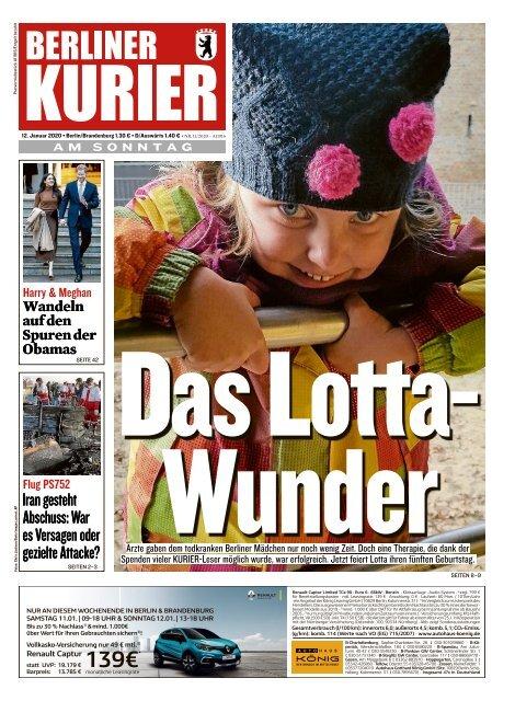 Berliner kurier bekanntschaften