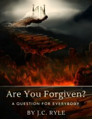 Are You Forgiven by J.C. Ryle