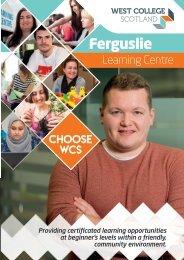 Ferguslie Learning Center Booklet January 2020