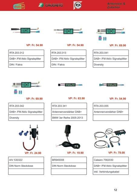 DAB Katalog CarCom electronics