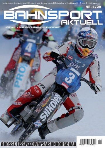Bahnsport aktuell Ausgabe 01/2020
