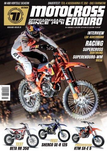 Motocross Enduro Ausgabe 02/2020