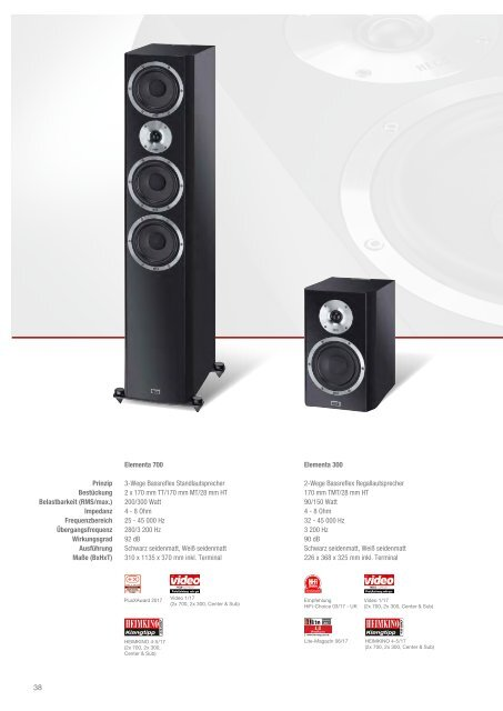 HECO-HOME Audio Katalog Deutsch