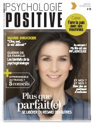 Psychologie Positive N°29