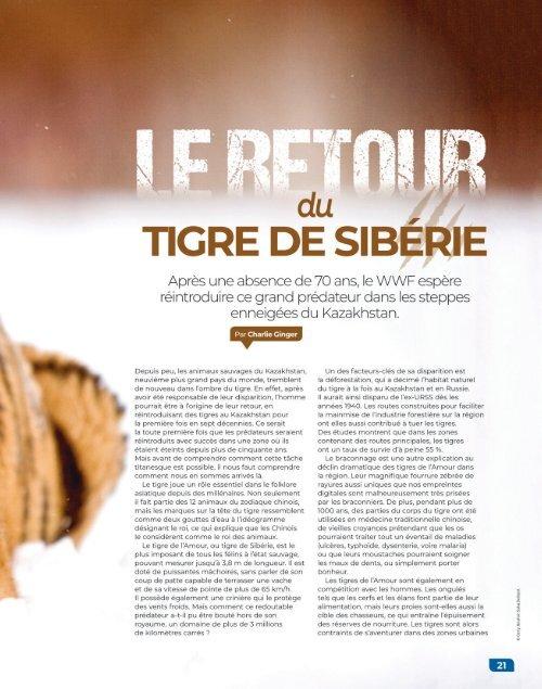 Le Monde des Animaux n°31