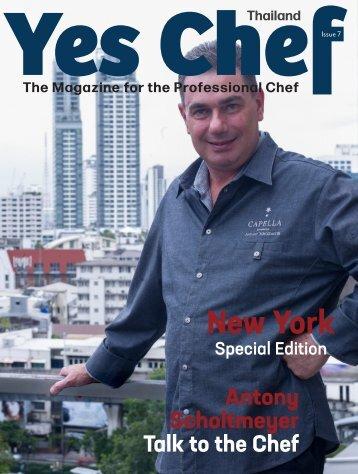 7th issue Chef Thailand