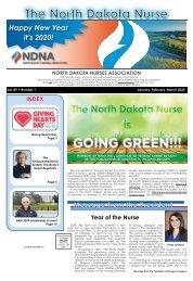 North Dakota Nurse - January 2020