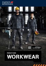 Fahnen Kössinger - Workwear