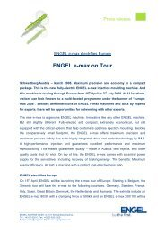 ENGEL e-max on Tour - Engel Austria