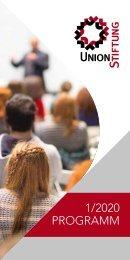 Programm Union Stiftung 1-2020