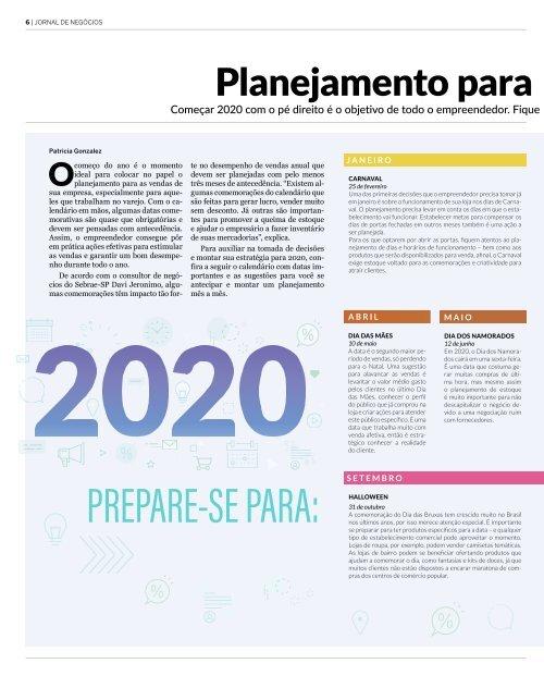 Negócios Janeiro 2019