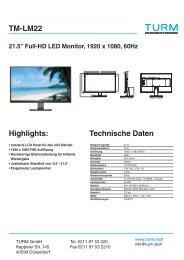 TM-LM22 Datenblatt