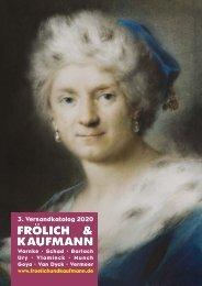 Frölich & Kaufmann 3. Versandkatalog 2020