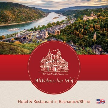 Hotel & Restaurant Altkölnischer Hof in Bacharach/Rhine