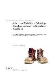 Arbeit und Mobilität - Institut für ökologische Wirtschaftsforschung