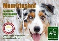 Mauritiushof Naturmagazin Ausgabe Jänner 2020