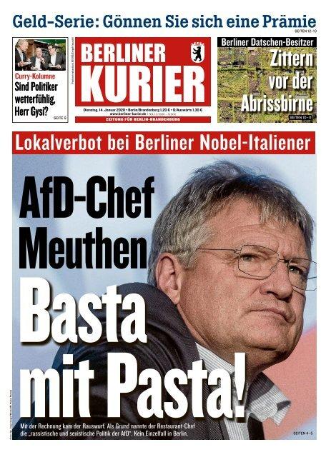 Berliner Kurier 14.01.2020