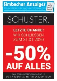 15.01.2020 Simbacher Anzeiger