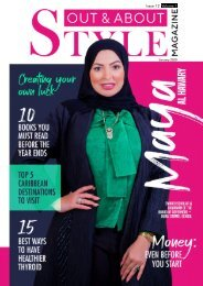 Out and About STYLE Magazine Issue 12 Vol. 1_Maya Al Hawary