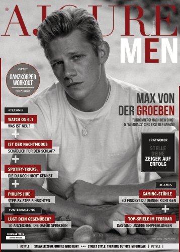 AJOURE´ Men Magazin Februar 2020