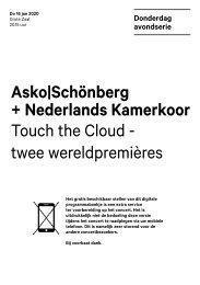 2020 01 16 Asko|Schönberg + Nederlands Kamerkoor