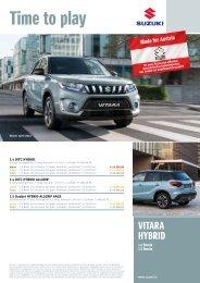 VITARA HYBRID Preise Ausstattung, technische Daten