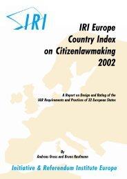 The Democratic Issue – Bringing in the European Citizens