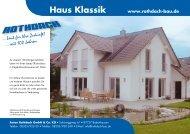 Rothdach Bau Haus Klassik