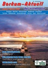 Januar/Februar  2020   Borkum-Aktuell - Das Inselmagazin