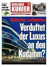 Berliner Kurier 15.01.2020