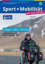 Sport + Mobilität mit Rollstuhl 08/2019