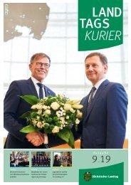 Landtagskurier, Ausgabe 9/2019