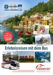 Erlebnisreisen mit dem Bus | Leserreisen 2020