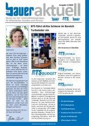 Bauer aktuell 2020/1 - Das Magazin der Bauer-Unternehmensgruppe Weilheim