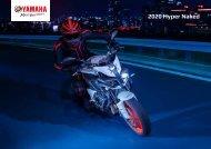 2020 Yamaha Hyper Naked Modelle