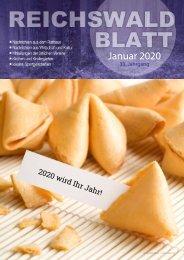 Reichswaldblatt Januar 2020