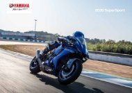 2020 Yamaha Supersport Modelle