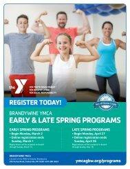 Brandywine YMCA Program Guide - Spring 2020