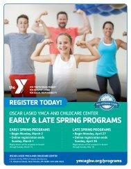 Oscar Lasko YMCA Program Guide - Spring 2020