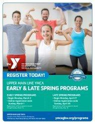 Upper Main Line YMCA Program Guide - Spring 2020
