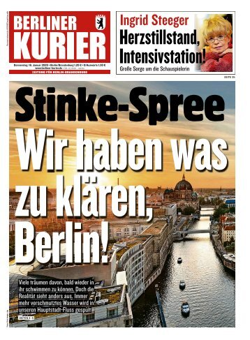 Berliner Kurier 16.01.2020