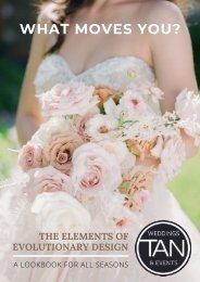 Tan Weddings & Events 2021 Lookbook
