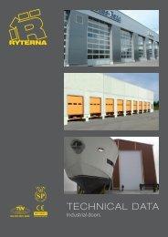 Technical Data Industrial Doors