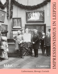 Leseprobe: Impressionismus in Leipzig 1900–1914 - Liebermann, Slevogt, Corinth