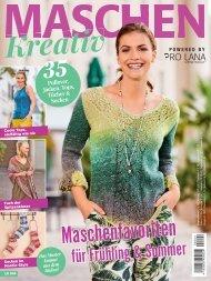 Strick-Zeitschrift Maschen kreativ (LK004)