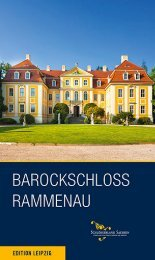 Leseprobe: Barockschloss Rammenau
