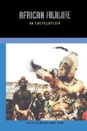 African Folklore: An Encyclopedia - Marshalls University