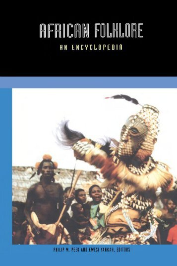 African Folklore: An Encyclopedia - Marshalls University