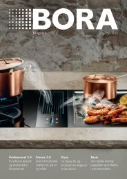 BORA Magazine 02|2019 – Danish